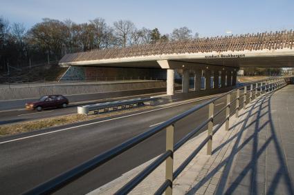 Ecoduct Beukbergen, Amersfoortseweg, Huis ter Heide.  Publicatie: 'Wegh der weegen: ontwerp en aanl © Rijksdienst voor het Cultureel Erfgoed
