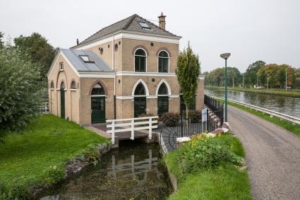 Gemaal van de Plaspoel- en Schaapweipolder. Jaagpad 6, Rijswijk. © Bert van As