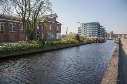 Kanaal en electriciteitscentrale, Molenstreek, Veendam. © Rijksdienst voor het Cultureel Erfgoed