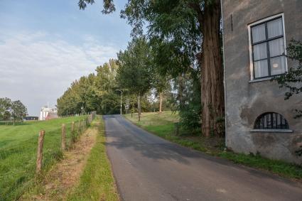 Oprel naar de Grebbedijk, Wageningse Afweg, Wageningen. © Bert van As