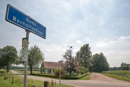 Baanwachterswoning langs de spoorbaan naar Bocholt, Oude Bocholtsebaan 11, Woold. © RCE, Bert van As