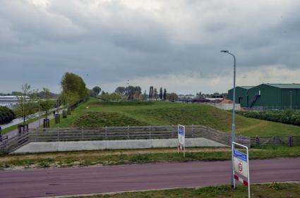 Batterij aan de Aalsmeerderweg (acces)
