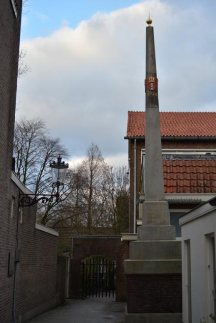 Banpaal Amsterdam-Sloten © B. van Veen