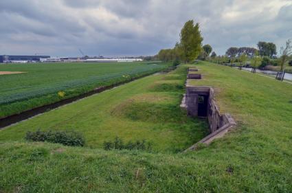 Nevenbatterij bij Fort Aalsmeerderbrug, Stelling van Amsterdam © B. van Veen