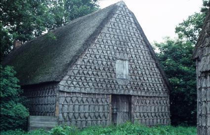 Willemsboo te Schoonenbeek (Drenthe), tegenwoordig in gebruik als vakantiewoning. © Gerrit-Jan van Herwaarden (Landschapsbeheer Nederland)