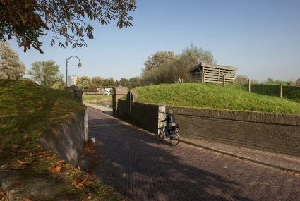 Dijkcoupure Brielsestraatweg Hellevoetsluis © © 2017 Koos Broek
