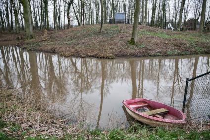 Motte Aldenhaag, Zoelen, Buren, Gelderland. © RCE, Bert van As