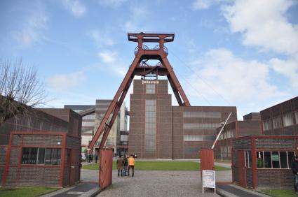 Zeche Zollverein Essen © B. van Veen