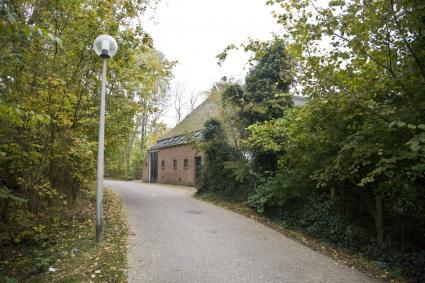 Ossenweg in het dorp Biessum, Groningen © Bert van As (RCE)