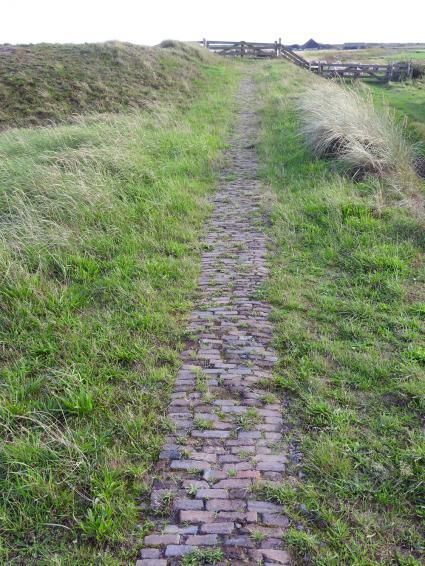 Peerde paadje op Texel © Bert en Cecile de Boer