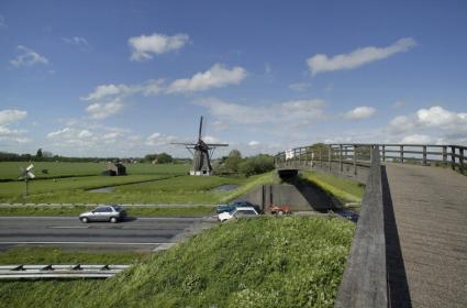 Schenkeldijk bij Werkendam, Noord Brabant. © Paul van Galen (RCE)