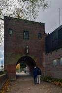 Locatie van de voormalige Tolsteegpoorten Utrecht © B. van Veen