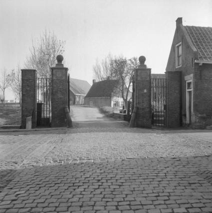 Tolhek in Heenvliet, ten zuidwesten van Rotterdam. © Gerard Dukker (RCE)