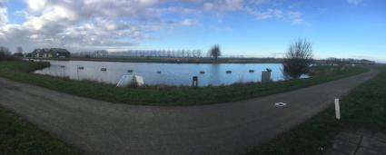 Zwaaikom in de Ringvaart Haarlemmermeer  © B.van Veen